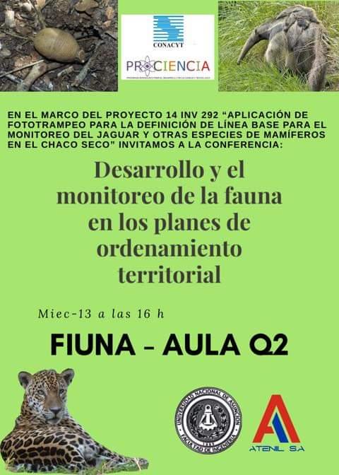 Desarrollo Y Monitoreo De La Fauna En Los Planes De